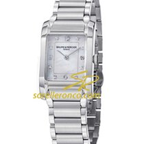 Baume & Mercier Hampton Rectangular Mother of Pearl Dial