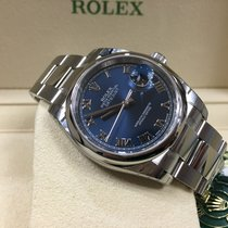 Rolex Cally - 116200 36mm Oyster Datejust Blue Roman Dial [NEW]