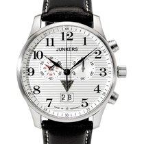 Junkers Iron Annie Ju52 Quartz Chrono Watch Big Date 42mm Case...
