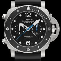 파네라이 (Panerai) Luminor Submersible 1950 3 Days Chrono Flyback...
