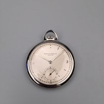 파텍필립 (Patek Philippe) 百达翡丽怀表 Patek Philippe steel pocket watch