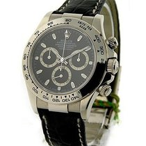 롤렉스 (Rolex) Unworn 116519 White Gold DAYTONA on Strap with...
