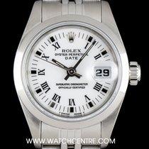 Rolex Stainless Steel White Roman Dial DatejustLadies B&P...