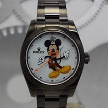 "Rolex Milgauss  ""Mickey Mouse"" by Montre Noire"