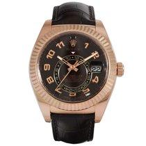Rolex Sky-Dweller Everose Gold Choco Dial 326135