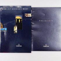 """Omega Katalog mit Preisliste von 1991"""" Wenn Zeit Geschicht..."""