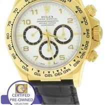 Rolex Daytona Cosmograph Zenith 16518 18K Gold Chronograph 40mm