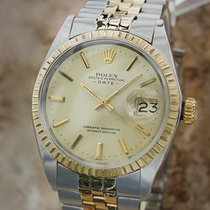 Rolex 1503 Men's Date 35mm Swiss Made 14k Gold and Steel...
