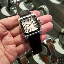 Cartier W20106X8 Santos 100 Watch 36mm
