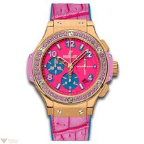 Hublot Big Bang Pop Art Automatic Chronograph 18K Yellow Gold...