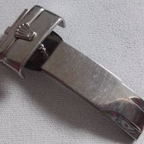 Rolex 18K White Gold (WG) Genuine 16 MM Deployant Clasp Buckle