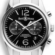 Bell & Ross BR 126 Officer Black  BRG126-BL-ST/SST