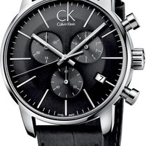 ck Calvin Klein City Chrono K2G271C3 Herrenchronograph Swiss Made