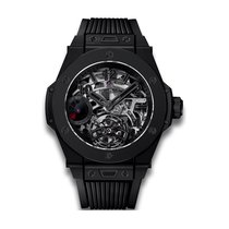 Hublot Big Bang All Black 45mm Automatic Ceramic Mens Watch...