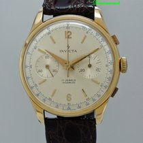 Invicta Vintage Chronograph 18k Rosegold