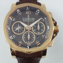 Corum Admiral's Cup Romvlvs Large Date Gold