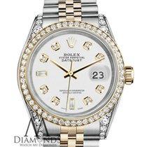 Rolex Ladies Rolex Stainless Steel / 18k Gold 36mm Datejust...