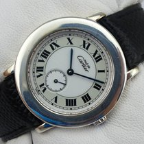 Cartier Must Ronde Solo Quarz - Silber 925 - 1815 1
