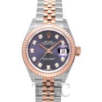 Rolex Lady Datejust 28 Purple Steel/18k Everose gold G 28mm -...