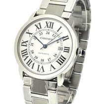 Cartier W6701011 Ronde Solo X-Large in Steel - on Bracelet...