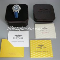 Breitling Colt Quartz mit Breitling Lederband (Box &...