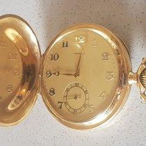 Zenith 39 Zenith - double shell 14 kt Gold pocket watch -...
