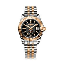 Breitling Galactic Automatic Steel & Rose Gold Black Dial...