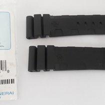 Panerai Genuine XL Caoutchouc rubber strap 24x22mm