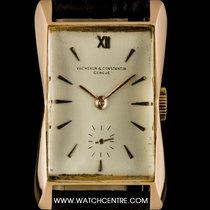 Vacheron Constantin Rare 18k Rose Gold Hour Glass Case Gents...