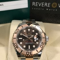 Rolex Yachtmaster 40 Everose/Steel 116621 Choco Dial - Baselworld