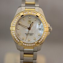 TAG Heuer Aquaracer Lady Quarz 32 Mother of Pearl Dial Full...