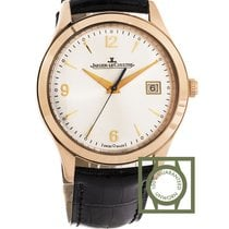 Jaeger-LeCoultre Master Control 39mm Pink Gold Ivory Dial NEW