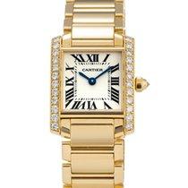Cartier Tank Francaise 18K Yellow Gold Watch