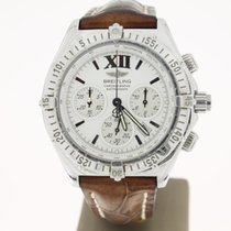 Breitling Chronoracer Rattrapante Steel WhiteDial 39mm...