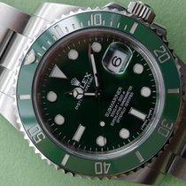 Rolex Submarinar Green Bezel 116610V