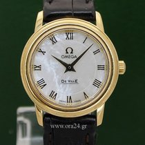 歐米茄 (Omega) De Ville Lady 18k Yellow Gold Mother Of Pearl...