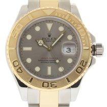 Rolex Yacht-Master 40mm 16623 Steel Gold Grey 2007 Box/Paper...