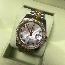 Rolex Datejust Diamond Perlmutt