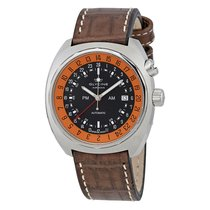 Glycine Airman STT 12 Black Dial Automatic Men's GMT Watch