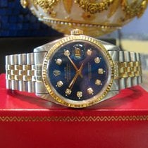 Rolex Oyster Perpetual Datejust Diamond Dial Stainless Steel...