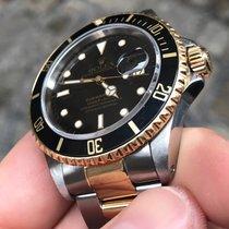 Rolex Submariner acciaio oro gold full black nero
