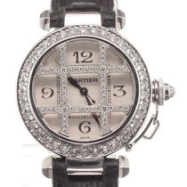 Cartier Pasha Diamonds 18K White Gold