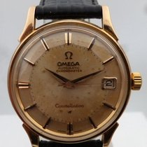 Omega vintage 1960 CONSTELLATION PIEPAN automatic PINK GOLD...