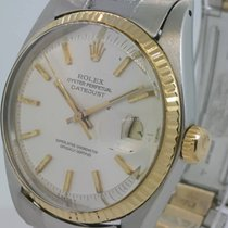 Rolex Oyster Perpetual Datejust  ref 1601 gold and steel