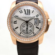 Cartier Calibre de Cartier diamond from 2010 with box and papers