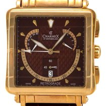 Charmex Le Mans Retrograde Chronograph Rose Gold Plated Steel...