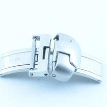 Tissot Leder Armband Faltschliesse 16mm Edelstahl