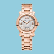 Chopard Happy Sport 30mm Automatik Roségold -NEU-