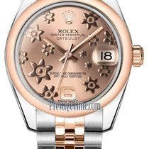 Rolex Datejust 31mm Stainless Steel and Rose Gold 178241 Pink...