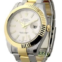 Rolex Unworn 116333 Mens 2-Tone Datejust II with Oyster...